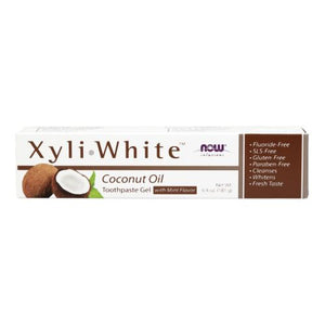 Xyliwhite Coconut Oil Toothpaste 6.4 Oz by Now Foods