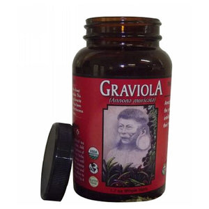 Organic Graviola Loose Leaf Tea 1.7 Oz (jar) by Amazon Therapeutic Laboratories (2588950757461)