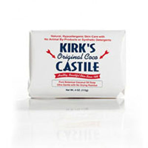 Castile Soap Original 4 oz / pack of 3 by Kirk's Natural Products (2584244420693)