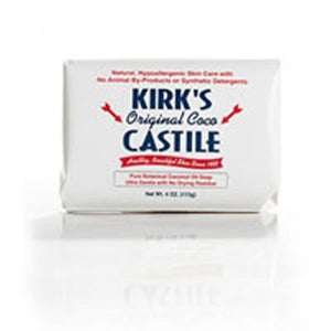 Castile Bar Soap 4 oz by Kirk's Natural Products (2584244453461)