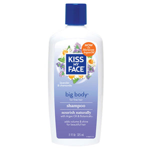 Big Body Shampoo Lavender & Chamomile, 11 Oz by Kiss My Face (2588737929301)