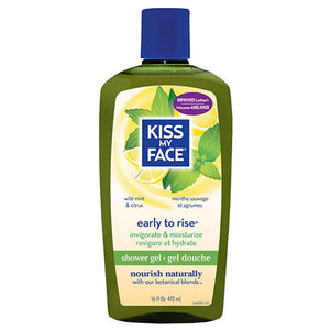 Bath & Shower Gel Early To Rise 16 OZ EA by Kiss My Face (2588738224213)