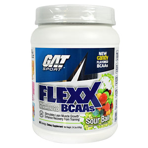 Flex BCAAS Jelly Bean 60 Servings by German American Technologies (2590349099093)