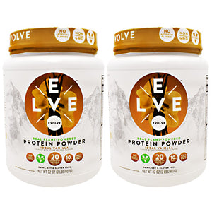 Evolve Plant Protein Powder Ideal Vanilla 4 lbs by Cytosport