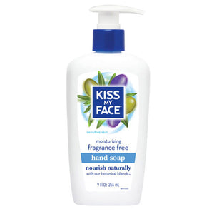 Moisturizing Hand Soap Fragrance Free, 9 Oz by Kiss My Face (2588738584661)
