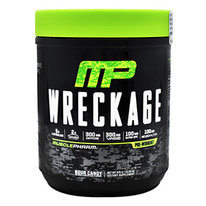 Wreckage Sour Candy 25 Servings by Muscle Pharm (2587855192149)