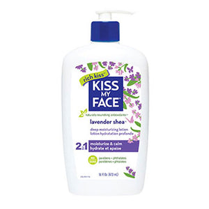 Deep Moisturizing Lotion Lavender & Shea Butter, 16Oz by Kiss My Face (2588836528213)