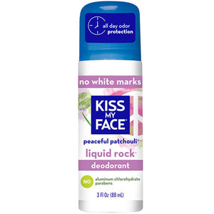 Liquid Rock Roll-On Deodorant Patchouli 3OZ by Kiss My Face (2588844032085)