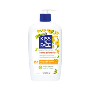Deep Moisturizing Lotion Honey & Calendula, 16 Oz by Kiss My Face (2588885778517)