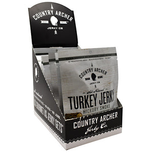 Turkey Jerky Hickory Smoke 12 Count by Country Archer (2587866431573)