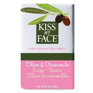 Bar Soap Olive & Chamomile, 8 Oz by Kiss My Face (2588885876821)