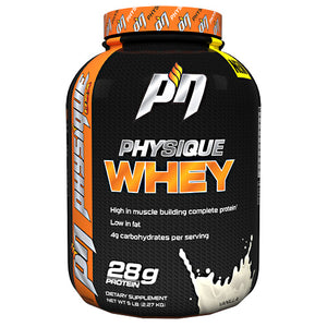 Physique Whey Vanilla 5 lbs by Physique Nutrition (2587870265429)