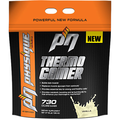 Thermo Gainer Vanilla 6 lbs by Physique Nutrition