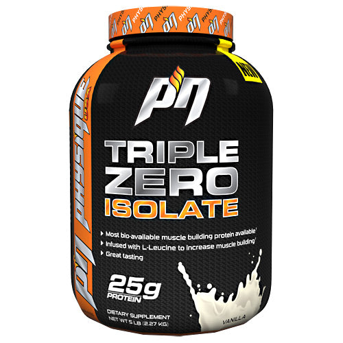Triple Zero Isolate Vanilla 5 lbs by Physique Nutrition