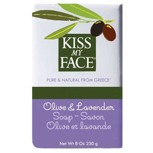 Bar Soap Olive & Lavender, 8 Oz by Kiss My Face (2588886106197)