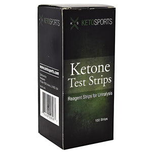 Ketone Test Strips 100 Count by KetoSports (2590021156949)