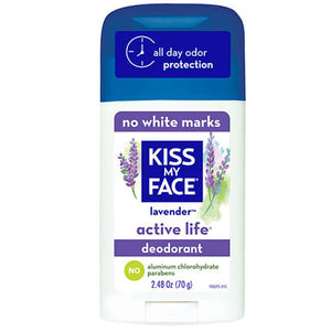 Deodorant Active Life Lavender EA 1/2.48 OZ by Kiss My Face (2588897181781)