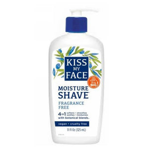 Moisture Shave Fragrance Free EA 1/11 OZ by Kiss My Face (2588898132053)