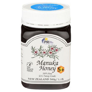 Honey Bio Active 5+ 1 lb by Pacific Resources