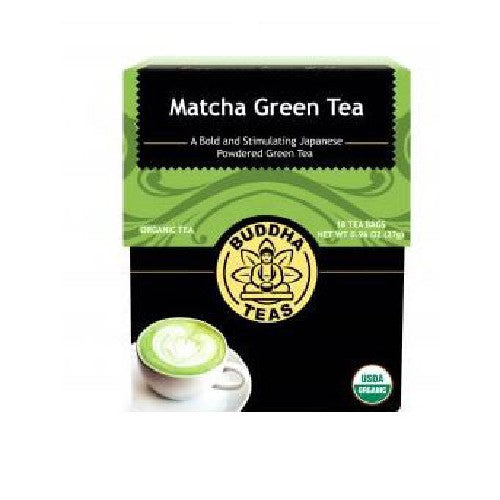 Orgainc Matcha Green Tea 18 Bags by Buddha Teas