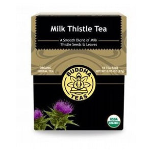 Organic Milk Thistle Tea 18 Bags by Buddha Teas