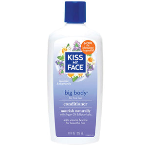 Big Body Conditioner 11 Oz by Kiss My Face (2588936306773)