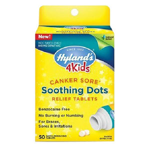 4 Kids Soothing Dots 50 Tabs by Hylands