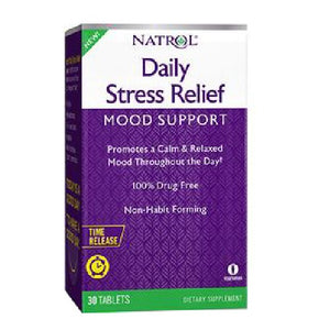 Daily Stress Relief 30 Tabs by Natrol (2590025711701)
