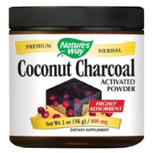 Coconut Charcoal Activated 2 Oz by Nature's Way