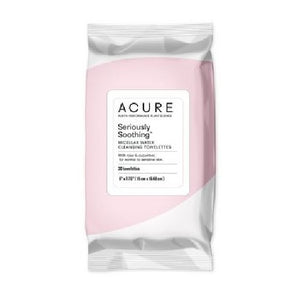 Seriously Soothing Micellar Water Cleansing Towelettes 30 Pieces by Acure