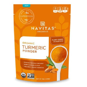 Organic Turmeric Powder 8 Oz by Navitas Naturals