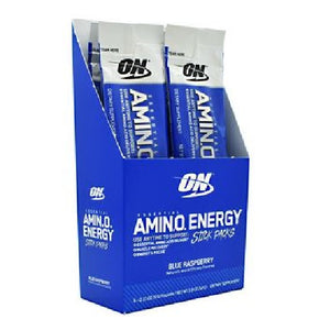 Essential Amino Energy Blue Raspberry 6 Count by Optimum Nutrition (2587878588501)