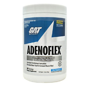 Adenoflex Blue Raspberyy 30 Servings by German American Technologies (2590031347797)