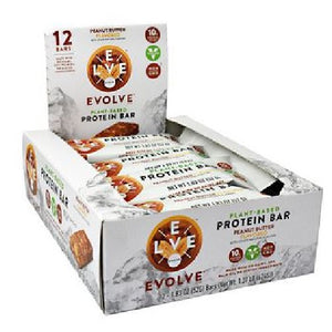 Evolve Bar Peanut Butter 12 Bars by Cytosport (2590032035925)