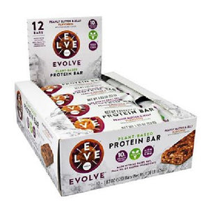 Evolve Bar Peanut Butter and Jelly 12 Bars by Cytosport (2590032101461)