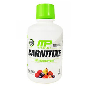 Liquid Carnitine Essentials Citrus 30 Servings by Muscle Pharm (2590032527445)