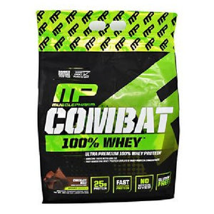 Combat 100% Whey Chocolate Milk 10 lbs by Muscle Pharm (2587879407701)