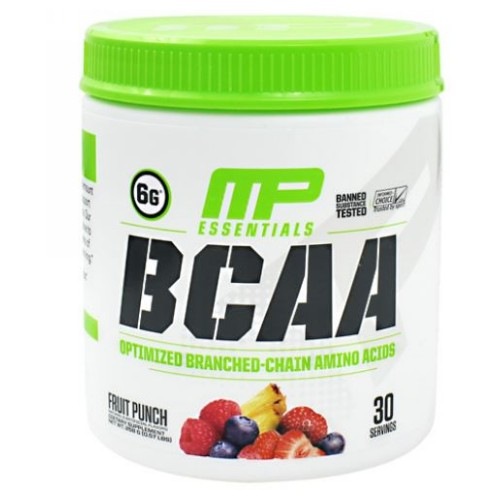 Essentials BCAA Fruit Punch 30 Servings by Muscle Pharm