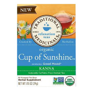 Organic Tea Cup of Sunshine 16 Bags by Traditional Medicinals Teas (2587885797461)