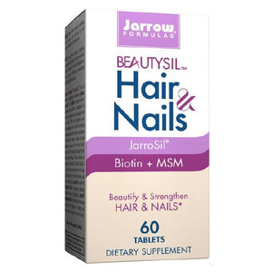 BeautySil Hair & Nails 60 Tabs by Jarrow Formulas