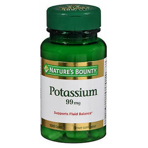Nature's Bounty Potassium 24 X 100 Caplets by Nature's Bounty