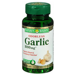 Natures Bounty Odorless Garlic 24 X 100 Softgels by Nature's Bounty