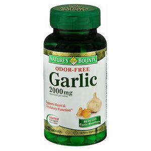 Nature's Bounty Odor Free Garlic 24 X 120 Tabs by Nature's Bounty (2590045012053)