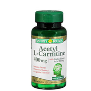 Nature's Bounty Acetyl L-Carnitine With Alpha Lipoic Acid 24 X 30 Caps by Nature's Bounty (2590045732949)
