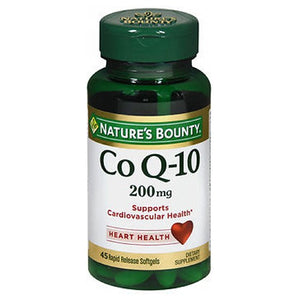 Nature's Bounty Co Enzyme Q10 24 X 45 Softgels by Nature's Bounty (2590046027861)