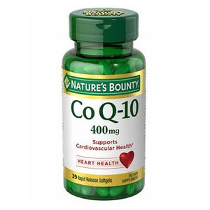Co Q-10 24 X 39 Softgels by Nature's Bounty (2590046060629)