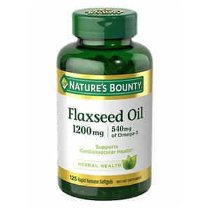 Flaxseed Oil 24 X 125 Softgels by Nature's Bounty (2590046158933)