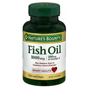Nature's Bounty Omega-3 Fish Oil Odorless 24 X 120 Softgels by Nature's Bounty