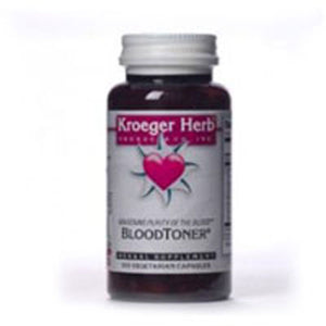 Blood Toner 100 Cap by Kroeger Herb (2584127373397)