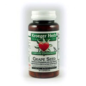 Grape Seed 95% 90 Cap by Kroeger Herb (2584127602773)